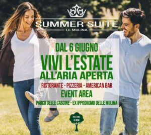 Apertura Summer Suite Firenze 2020